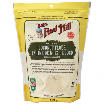 Bob's Red Mill Organic Coconut Flour, 453g