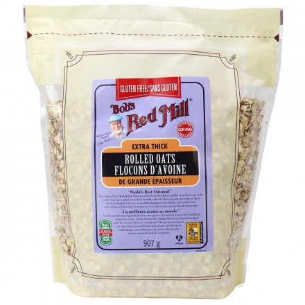 Bob's Red Mill Gluten Free Extra Thick Rolled Oats, 907g