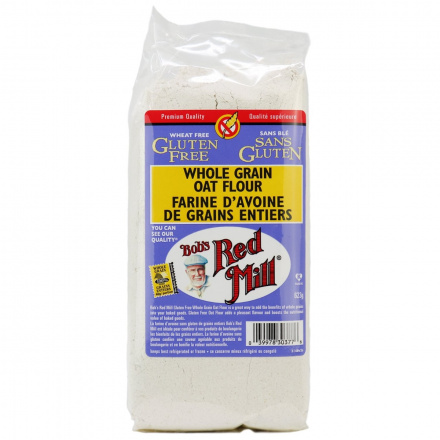 Bob's Red Mill Gluten Free Whole Grain Oat Flour, 623g