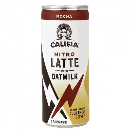 Califia Farms Nitro Latte with Oatmilk Mocha, 210ml