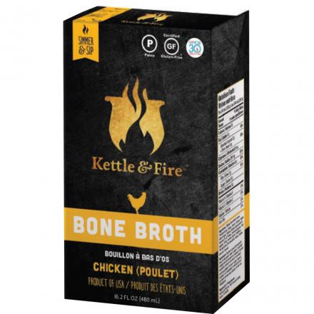 Kettle & Fire Chicken Bone Broth, 480ml