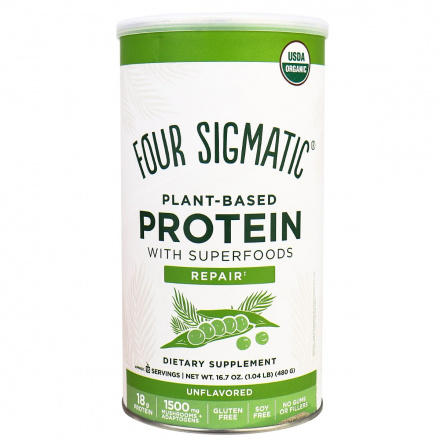 Four Sigmatic Organic Plant-Based Protein with Superfoods Repair, 480g