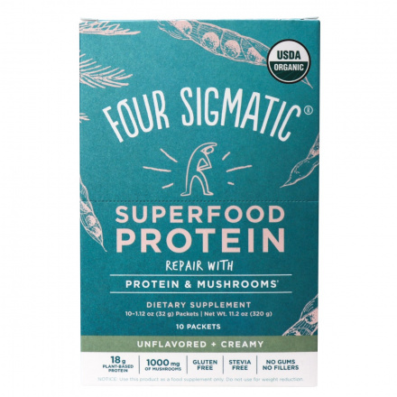 Four Sigmatic Superfood Protein Packets, 320g
