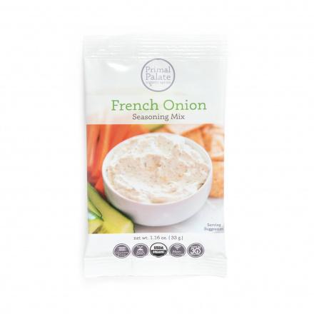 Primal Palate Organic French Onion Seasoning Mix, 33g