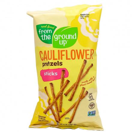 From The Ground UP Original Cauliflower Pretzel Sticks, 128g