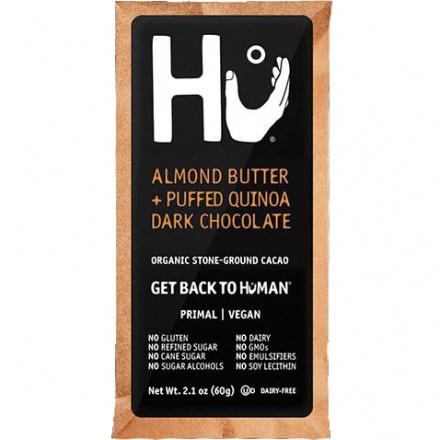 Hu Almond Butter & Puffed Quinoa Chocolate Bar, 60g (Exp. August 2020)