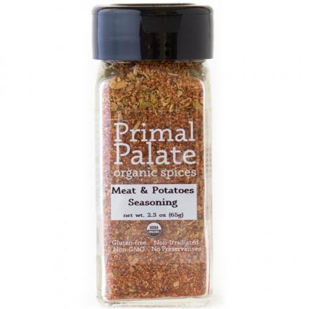 Primal Palate Organic Spices Meat & Potatoes Seasoning, 65g