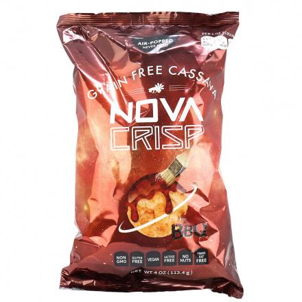 Nova Crisp Grain-Free Cassava Chips BBQ, 113.4g