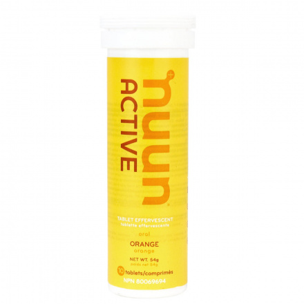 Nuun Sport Electrolyte Supplement Orange, 10 Tablets