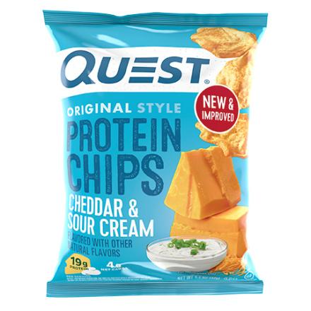 Quest Protein Tortilla Chips Cheddar & Sour Cream, 32g