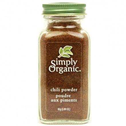 Simply Organic Chili Powder Organic, 82g