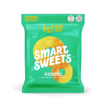 SmartSweets Peach Rings, 50g