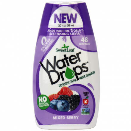 Sweetleaf Mixed Berry Water Drops, 48ml