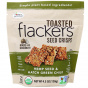 Flackers Hemp Seed & Hatch Green Chile Toasted Seed Crisps, 128g