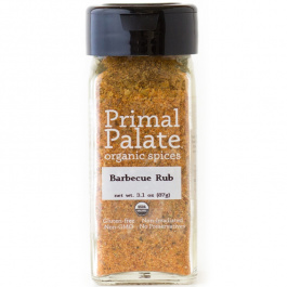 Primal Palate Organic Spices Barbecue Rub, 87g
