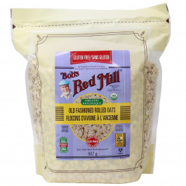Bob's Red Mill Gluten Free Organic Old Fashioned Rolled Oats, 907g