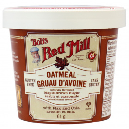 Bob's Red Mill Gluten Free Brown Sugar & Maple Oatmeal Cup, 61g