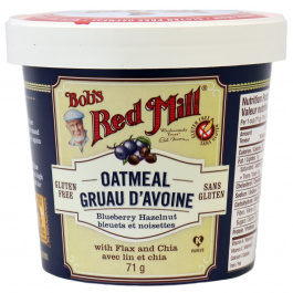 Bob's Red Mill Gluten Free Blueberry Hazelnut Oatmeal Cup, 71g