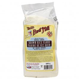 Bob's Red Mill Gluten Free Brown Rice Flour, 680g