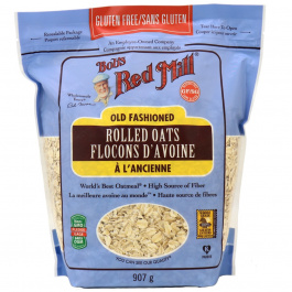 Bob's Red Mill Gluten Free Old Fashioned Rolled Oats, 907g