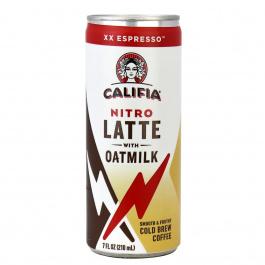 Califia Farms Nitro Latte with Oatmilk Espresso, 210ml