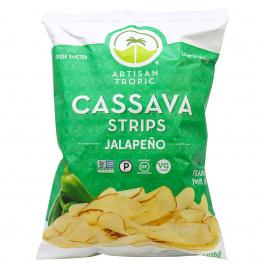 Artisan Tropic Cassava Strips Jalapeno, 128g