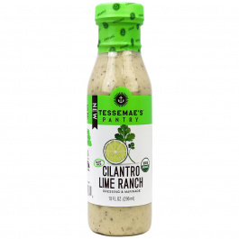 Tessemae's Creamy Cilantro Lime Ranch Dressing, 296ml