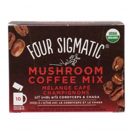Four Sigmatic Mushroom Coffee with Chaga & Cordyceps, 10 bags