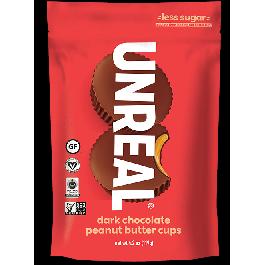 Unreal Dark Chocolate Peanut Butter Cups, 119g