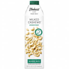 Elmhurst Unsweetened Cashew Milk, 946ml