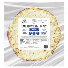 "Cali'flour Foods Cauliflower Flatbreads 5"", Pack of 4"