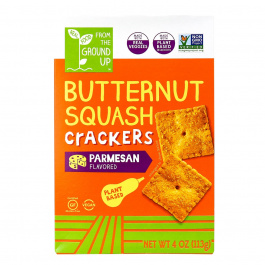 From The Ground UP Parmesan Butternut Squash Crackers, 113g
