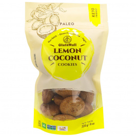 GluteNull Bakery Keto-Friendly Cookies Lemon Coconut, 220g