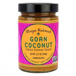 Maya Kaimal Goan Coconut Indian Simmer Sauce Medium, 354g