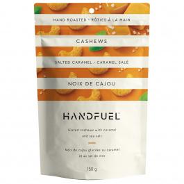 Handfuel Glazed Cashews with Caramel and Sea Salt, 150g