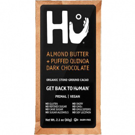 Hu Almond Butter & Puffed Quinoa Chocolate Bar, 60g (Exp. August 2020)