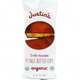 Justin's Milk Chocolate Peanut Butter Cups, 40g