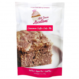 Keto Queen Kreations Cinnamon Coffee Cake Mix, 208g