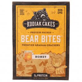 Kodiak Cakes Bear Bites Honey Graham Crackers, 255g