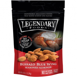 Legendary Foods Buffalo Blue Wing Seasoned Almonds, 113g