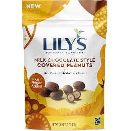 Lily's Milk Chocolate Style Covered Peanuts, 99g