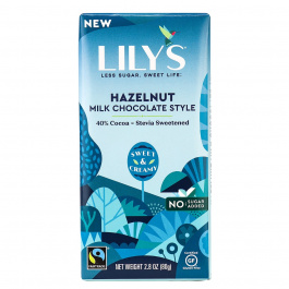 Lily's Milk Chocolate Hazelnut, 80g