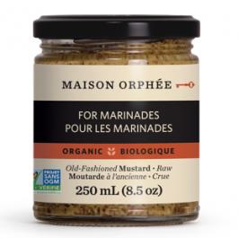 Maison Orphee Organic Old-Fashioned Mustard, 250ml