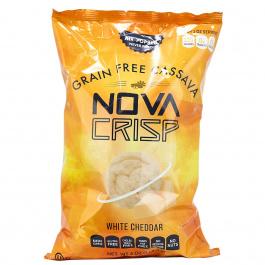 Nova Crisp Grain-Free Cassava Chips White Cheddar, 113.4g