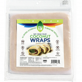 Nuco Coconut Paleo Wraps, Pack of 5