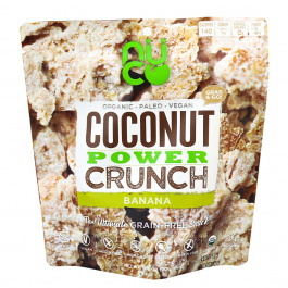 Nuco Coconut Power Crunch Banana, 30g
