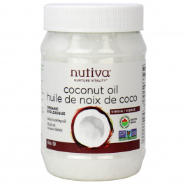 Nutiva Organic Virgin Coconut Oil, 444ml