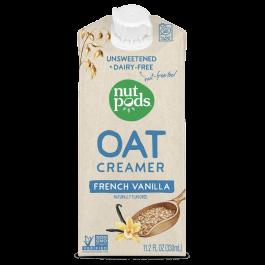 Nutpods Oat Creamer French Vanilla Unsweetened, 330mL
