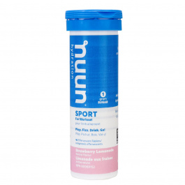 Nuun Sport Electrolyte Supplement Strawberry Lemonade, 10 Tablets