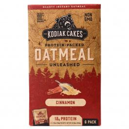 Kodiak Cakes Protein Packed Oatmeal Cinnamon, 6 Packets